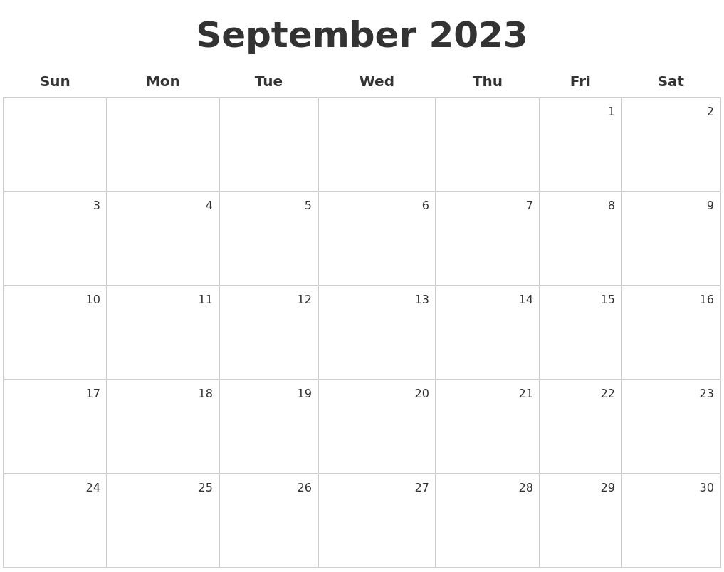 June 2023 Calendars Free